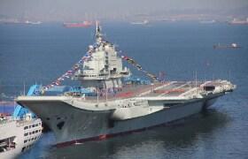 中國遼寧號航空母艦